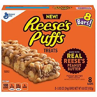 Reese's Puffs Treats Peanut Butter & Cocoa Bars