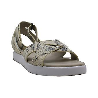 Cole Haan Womens Zerogrand Criss Cross Leather Open Toe Casual Strappy Sandals