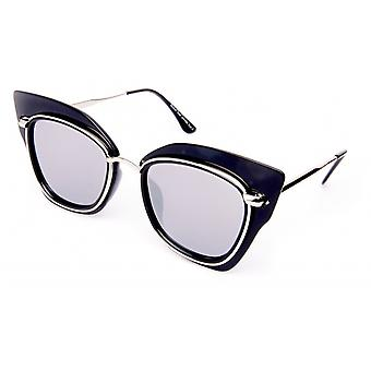 Gafas de sol mujer negro/plata 18-104