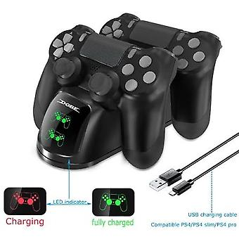 Fast-charging Ps4 Dock Dual-controllers Charging Station