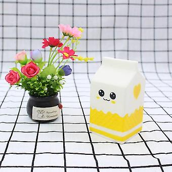 Cute Milk Carton Squishy Slow Rising Soft Squeeze Verlichten Stress Funny Toy For Kid Party Christmas Children Gift