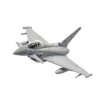 Eurofighter Typhoon FGR.4 ZJ924  RAF No. IX (B Squadron  Lossiemouth  Scotland May 2019) Diecast Model Airplane