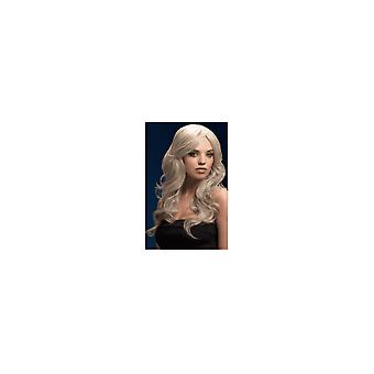 Smiffy's Fever Nicole Wig - Silver Blonde