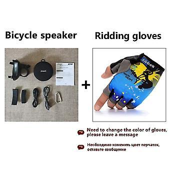 Przenośne rowery Głośnik Bluetooth Kolumna rowerowa Wodoodporna akustyka prysznicowa