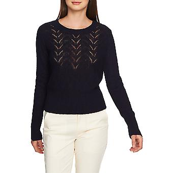 1.State | Striped Jacquard Off-The-Shoulder Top
