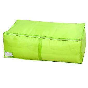YANGFAN Solid Color Zipper Lock Oxford Cloth Quilt Storage Bag