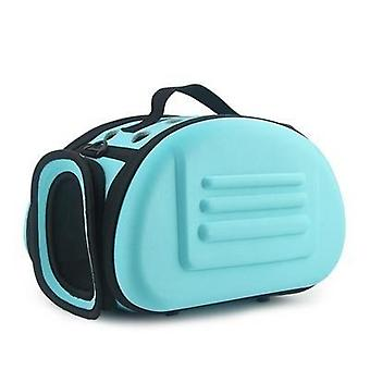Eva Pure Color Pet Carrier Bag - Portable Outdoor Foldable Shoulder Travel Pet