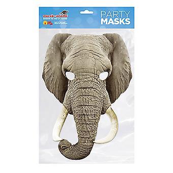 Máscara de fiesta de elefante máscara-arade