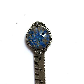 Creative Retro Pronssi Pyöreä Metalli kirjanmerkki (13cm)