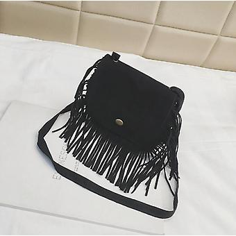 Moda Tassel Mini Messenger Genți de mână, monede pungă, saci de umăr /