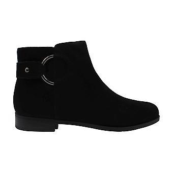 Alfani Womens avvia Suede Almond Toe Ankle Fashion Boots