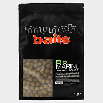 New Munch Bio Marine 14mm Boilies 5kg Shelf Life Brown