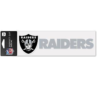 Wincraft autocollant 8x25cm - NFL Raiders Las Vegas