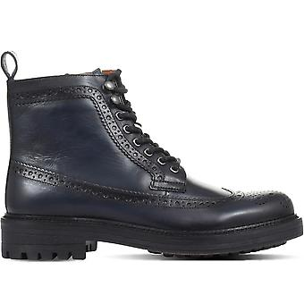 Jones Bootmaker Miesten Koby Nahka Brogue Boot