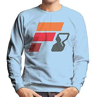 Nopea ja raivoisa F8 Abstract Logo Men's Collegepaita