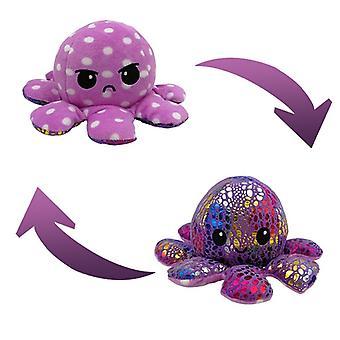 Cute Soft Simulation Reversible Octopu Doll