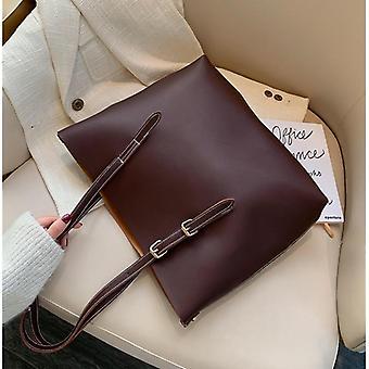 Women's Leather Handbags, Luxury Lady Hand Bags/pocket Women Composite Bag