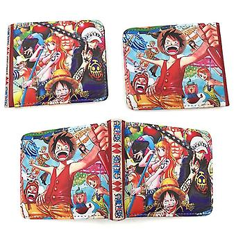 PU leather Coin Purse Cartoon anime wallet - Une pièce #897
