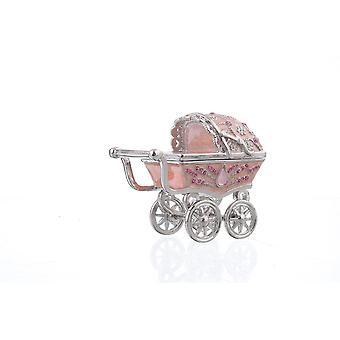 Baby Carriage Trinket Box