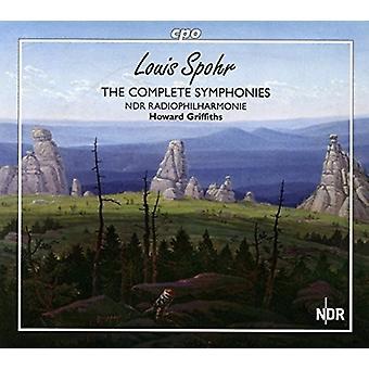 Spohr / Ndr Radiophilharmonie / Griffiths - Spohr / Ndr Radiophilharmonie / Griffiths: symfonier [SACD] USA import