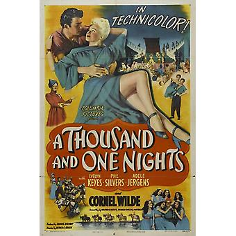 Thousand and One Nights A Movie Poster Print (27 x 40)