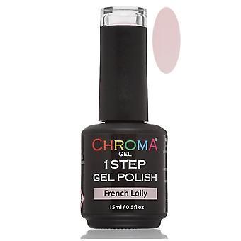 Chroma Gel One Step Gel Polish - French Lolly