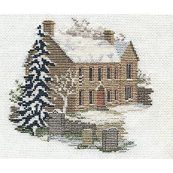 Derwentwater Designs Bronte Parsonage Haworth (14DD223) Cross Stitch Kit by Bothy Threads