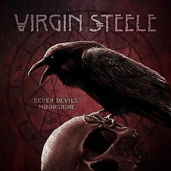 Virgin Steele - Seven Devil's Moonshine [CD] USA import
