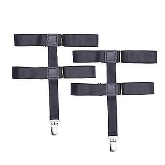 Fashion Goth Female Sock Strapless Suspender Belt For Stockings Garters Clip