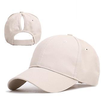Female Snapback Summer Adjustable Baseball Cap/outdoor Shade Ponytail Caps