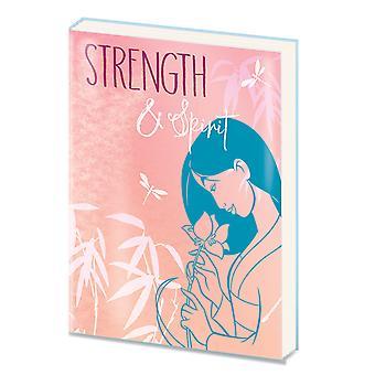 Mulan Strength & Spirit A5 Notebook