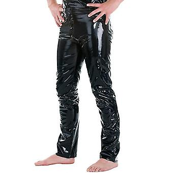 Shiny Skinny Leather Pants