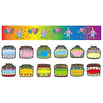Set bacheca torte di compleanno