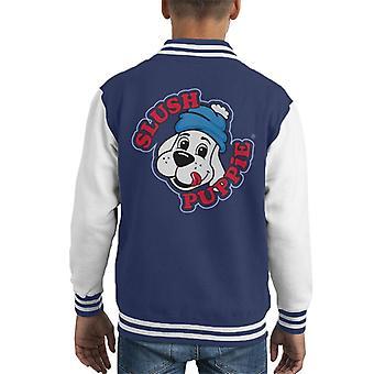 Slush Puppie 00's Logo Kid's Varsity Jacket