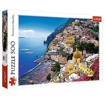 Trefl positano italy 500 pieces puzzle premium quality