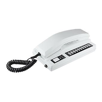 Telephone Intercom Wireless Secure Interphone Handsets Expandable For Warehouse