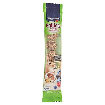 Vitakraft Berry Rollinis Treats for Rabbits 7-Pack, Deal of 3