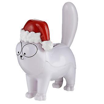 אספן מורשה סולארית מופעל חבר - חג המולד סימונס חתול