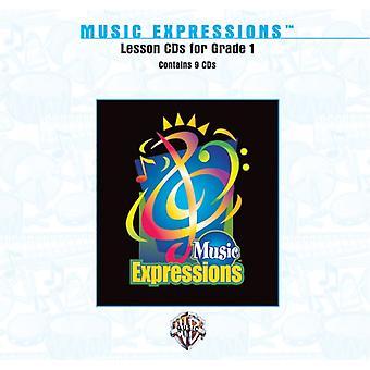 Espressioni musicali Grado 1: CD delle lezioni