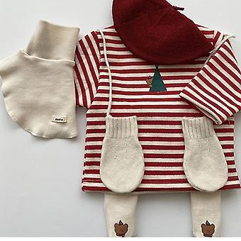 Baby/girls Warm Christmas Tops Christmas Tree Sweatshirt