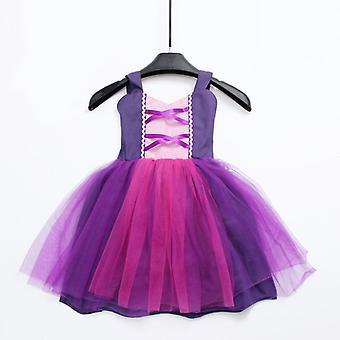 Detské's Fancy Baby kostým party princezná šaty 7-8T