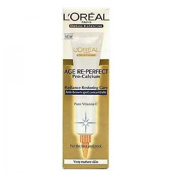 L'Oreal Age Re-Perfect Pro Calcium Anti-Brown Spot Concentré