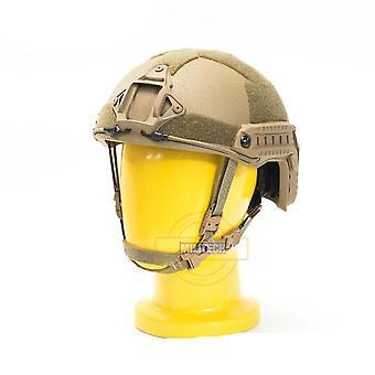 Iso Certified Militech Cb Nij Fast Occ Liner High Xp Cut Bulletproof Helmet
