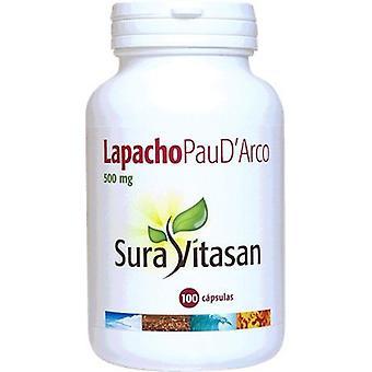Sura Vitasan Lapacho Pau D´arco 500 mg 100 Capsules