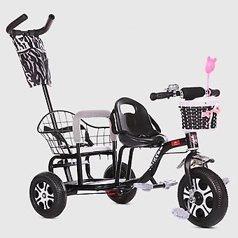 Baby Stroller Child Double Tricycle Bicycle