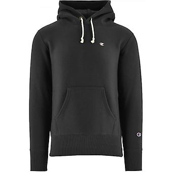 Champion schwarz Reverse Weave Kapuzen Sweatshirt