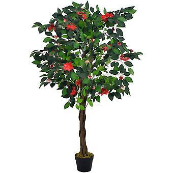ポットグリーン125センチとvidaXL人工植物カメリア
