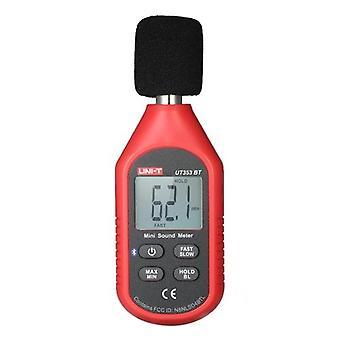 UNI-T UT353BT Mini LCD Digital Sound Level Meter Noise Measuring Instrument Decibel Monitoring Tester 30-130dB