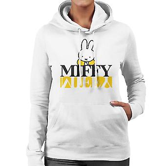 Miffy Logo Reflected Women's Hooded Sweatshirt
