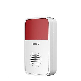 Smart Wireless Strobe Siren Sound Flash Light Alarm Indoor With Lithium Battery